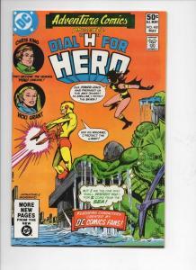 ADVENTURE COMICS #481, NM-, Dial H for Hero, 1938 1981, more in store
