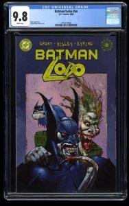 Batman/Lobo nn CGC NM/M 9.8 White Pages