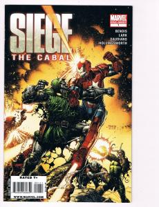 Siege: The Cabal # 1 Marvel Comic Books Hi-Res Scans Awesome Issue WOW!!!!!! S17