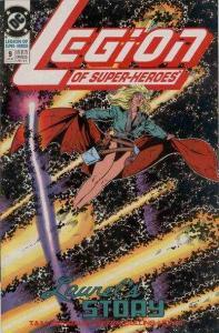 Legion of Super-Heroes (1989 series) #9, VF+ (Stock photo)