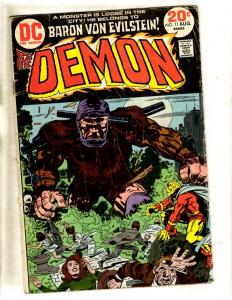 Lot Of 6 Demon DC Comic Books # 11 12 13 14 15 16 Jack Kirby Art 4th World FM1
