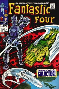 Fantastic Four #74 (ungraded) stock photo / SCM