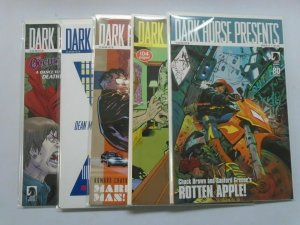 Dark Horse Presents (2nd Series) Set of 5 B Issues, 8.0/VF (2011)