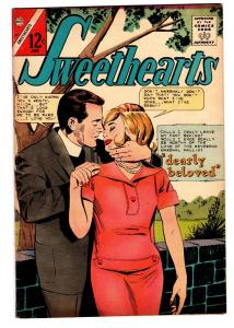Swethearts #87 1966- Charlton Romance- dearly beloved FN