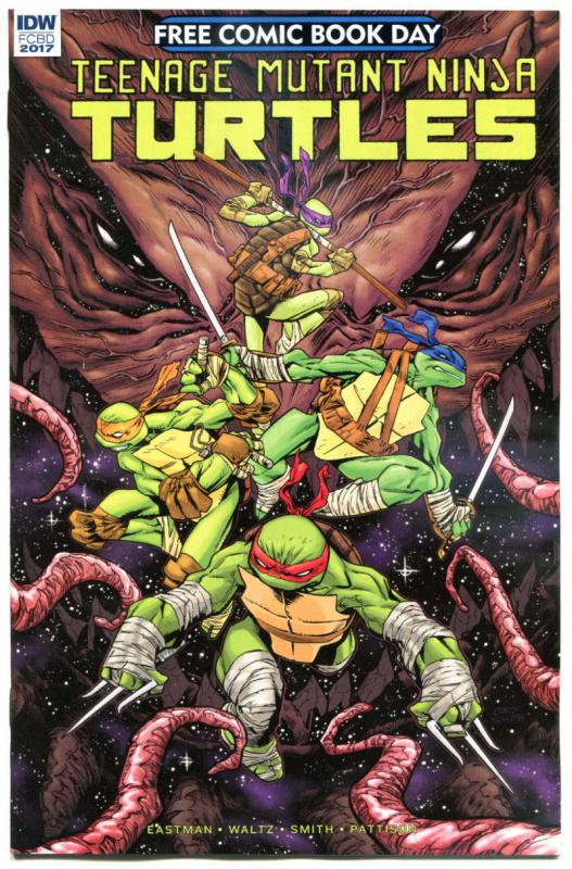 TEENAGE MUTANT NINJA TURTLES #1, NM, FCBD, TMNT, 2017, more Promo/items in store