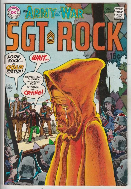 Our Army at War #211 (Oct-69) VF/NM High-Grade Easy Company, Sgt. Rock