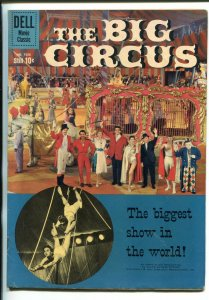 THE BIG CIRCUS #1036 1959-DELL-MOVIE-RHONDA FLEMING-VICTOR MATURE-PETER LORRE-fn