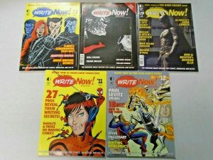 Write Now! Magazine Lot From #5-20 (Last Issue) 10 Different (2003-2009)