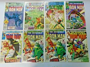 Iron Man lot #152 to #198 45 different books average 7.0 range 6.0 to 8.0 (1981)