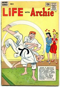 Life With Archie #20 1963 Betty-Veronica-karate-motorcycle gang G+