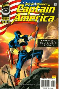 Captain America (1st Series) #454 VF/NM; Marvel | save on shipping - details ins