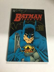 Batman Year Two Nm Near Mint DC Comics DC Comics SC TPB