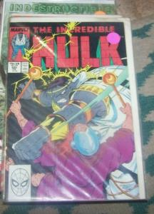 Incredible Hulk  # 352 JUl 1988 MARVEL  GRAY HULK joe fixit vegas mob