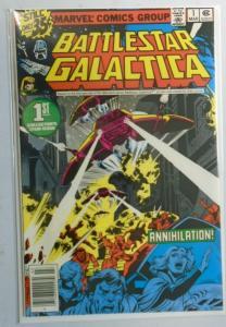 Battlestar Galactica (Marvel) #1, Newsstand Edition,8.0/VF (1979)
