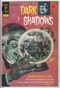Dark Shadows #25 (Apr-74) VF/NM High-Grade Barnabus Collins
