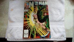 1990 MARVEL COMICS NTH MAN THE ULTIMATE NINJA # 10