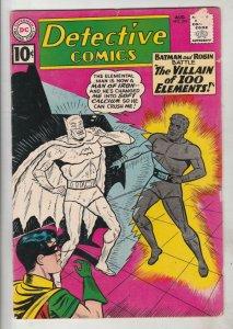 Detective Comics #294 (Aug-61) VG/FN+ Mid-Grade Batman