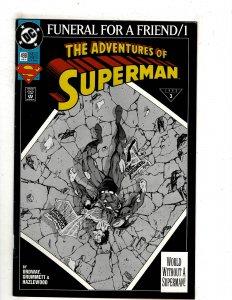 Adventures of Superman #498 (1993) YY3