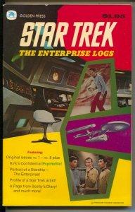 Star Trek Enterprise Logs #1 1976-Golden Press-reprints 1ssues1-8-Kirk Psycho...