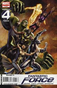 Fantastic Force (2nd Series) #1 VF/NM; Marvel | save on shipping - details insid