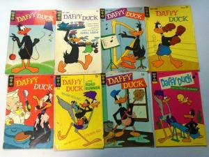 Silver+Bronze Age Era Gold Key Daffy Duck+Tweety Comic Lot, 57 Diff. Very Good