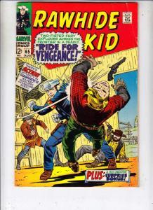 Rawhide Kid #65 (Aug-68) FN/VF+ High-Grade Rawhide Kid
