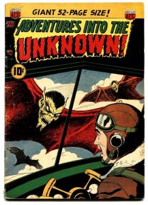 Adventures Into The Unknown #31 comic book 1952-ACG-pre-code horror-werewolf