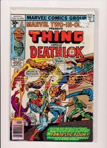 MARVEL TWO IN ONE-The THING vs DEATHLOK #27  F/VF(SRU249)