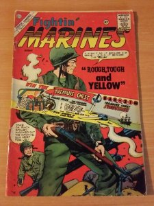 Fightin' Marines #39 ~ GOOD - VERY GOOD VG ~ 1960 Charlton Comics