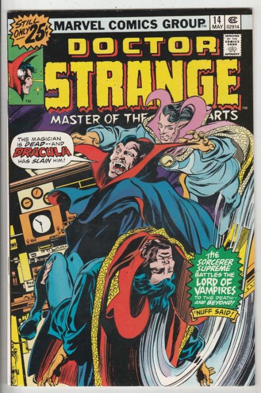 Doctor Strange #14 (May-76) VF/NM+ High-Grade Dr.Strange