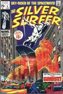 Silver Surfer #8 (ungraded) stock photo / SCM