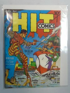 Flashback 31: Hit Comics #1 4.0 VG (1975 Reprint)