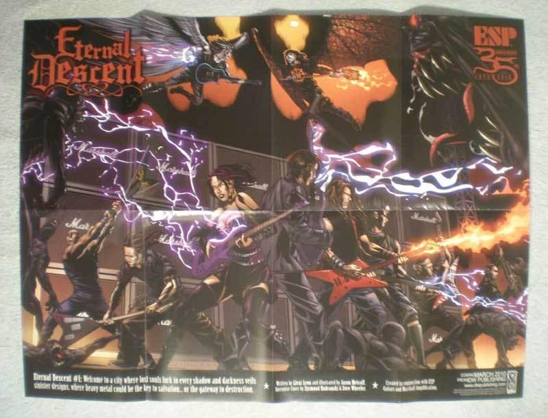 ETERNAL DESCENT Promo Poster, 24x18, 2010, Unused, more in our store