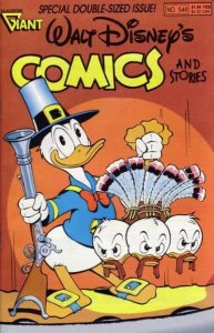 Walt Disney's Comics and Stories #546, VF+ (Stock photo)