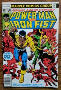 POWER MAN & IRON FIST #50, VF/NM, Luke Cage, 1974 1978, Kung-Fu, John Byrne