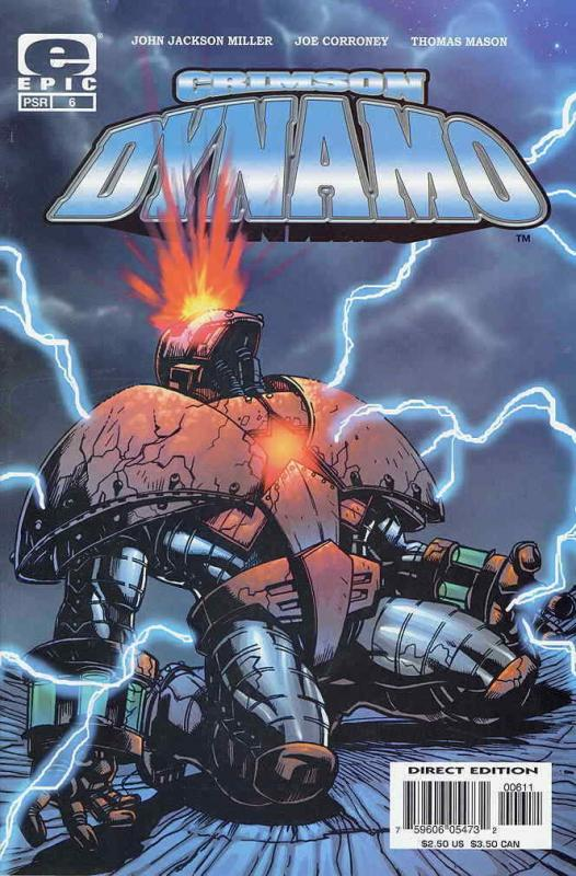 Crimson Dynamo #6 FN; Epic | save on shipping - details inside