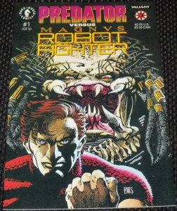Predator vs. Magnus Robot Fighter #1 (1992)