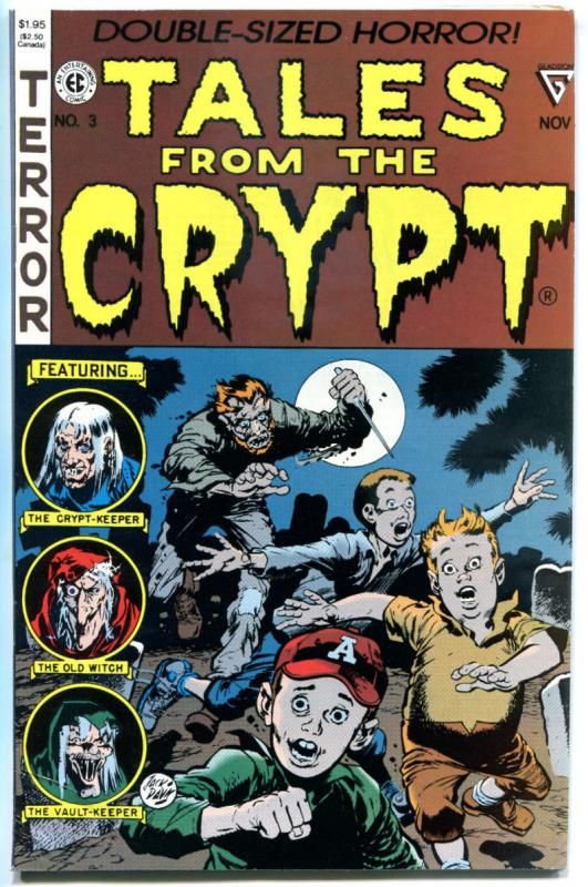 TALES from the CRYPT #3, FN/VF, Gladstone, Jack Davis, Horror, 1990
