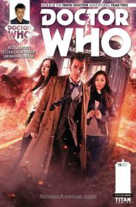 Doctor Who: The Tenth Doctor Year Two #15B VF/NM; Titan | save on shipping - det
