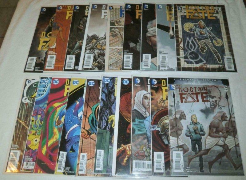 Doctor Fate V4 #1-18, Convergence: Aquaman #2 Khalid Nassour comics lot of 19