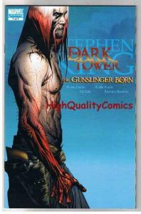 STEPHEN KING : DARK TOWER GUNSLINGER BORN #7, 2007, NM+, more SK in store