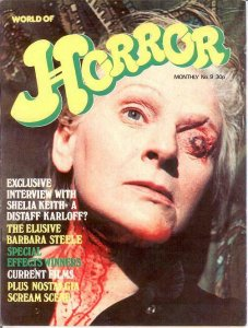 WORLD OF HORROR (1970S DALLRUTH)   9 F-VF