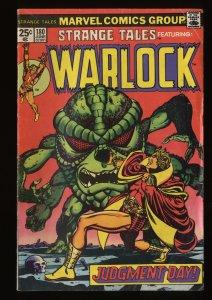 Strange Tales #180 VG 4.0 1st Gamora!