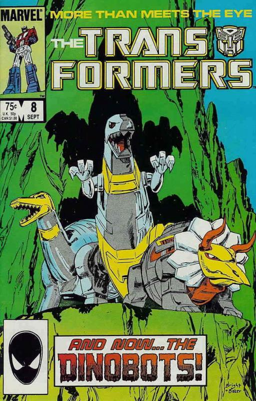Transformers, The #8 VF; Marvel | save on shipping - details inside