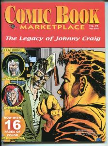 Comic Book Marketplace #91 2002-Gemstone-Johnny Craig-horror-collector info-VF
