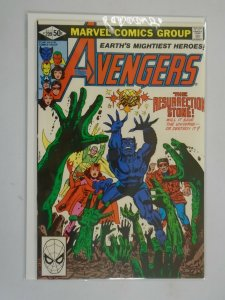 Avengers #209 Direct edition 8.5 VF+ (1981 1st Series)