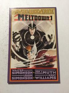 Havok & Wolverine Meltdown 1 NM Near Mint