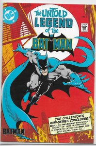 Untold Legend of the Batman   (1989)   #1-3 (complete set)