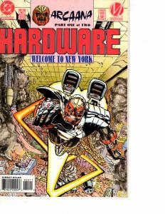 Lot Of 2 DC Comics Hardware #1 and Deathstroke The Hunted #41  Wonder Women  JB4