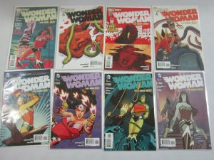 Wonder Woman lot 44 from #2-52 some variants 8.0 VF (2011-16 New 52 4th Series)